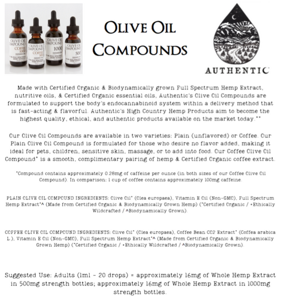 Authentic | Olive Oil Compound - Plain