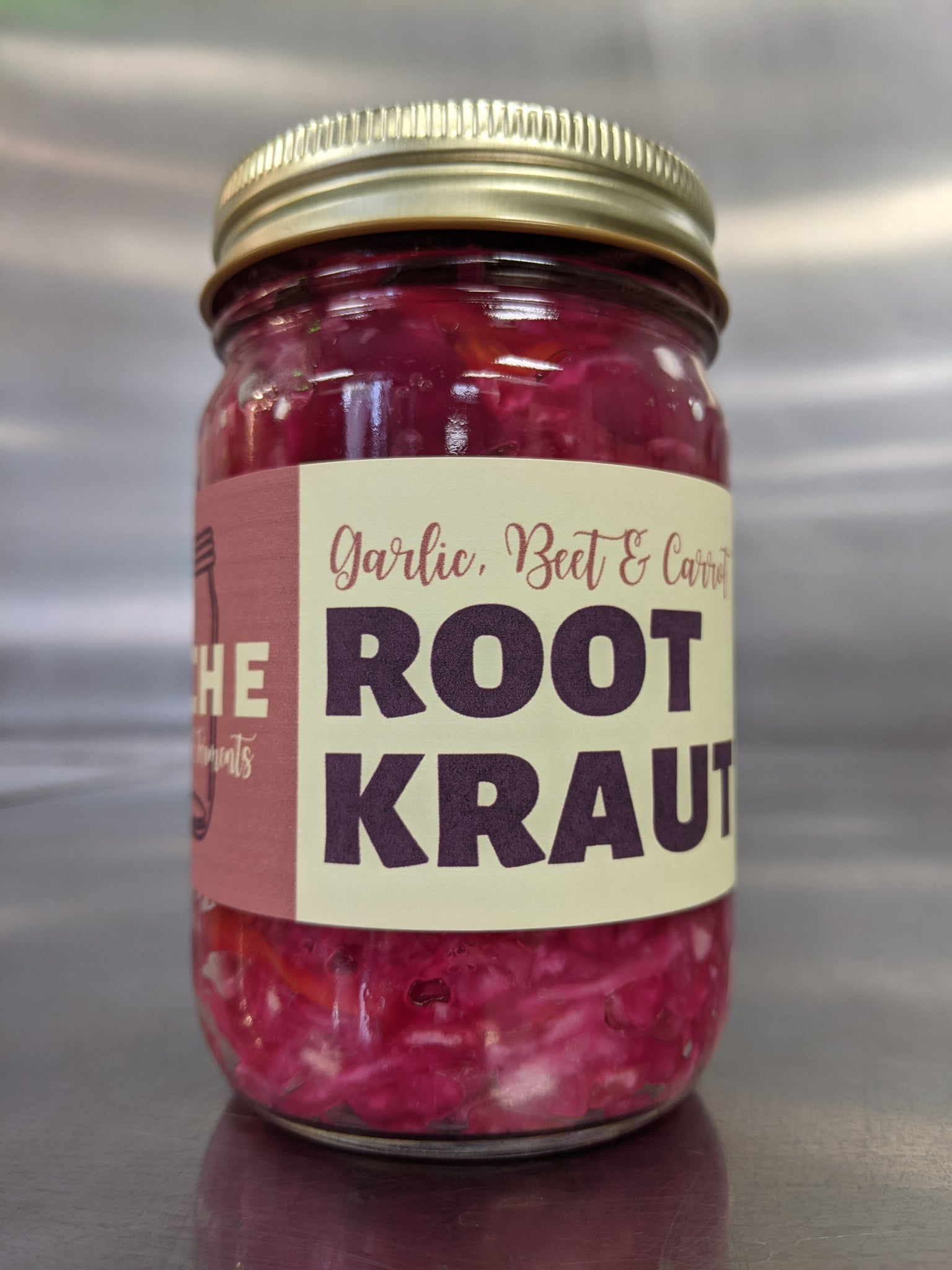 Cache Canning | Root Kraut 12oz.