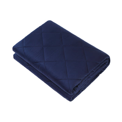 Second-hand Weighted Blanket Help With Insomnia, Anxiety, Stress(Dark Grey,5lbs,7lbs,10lbs, 12lbs, 15lbs,20lbs, 25lbs for Your Option)