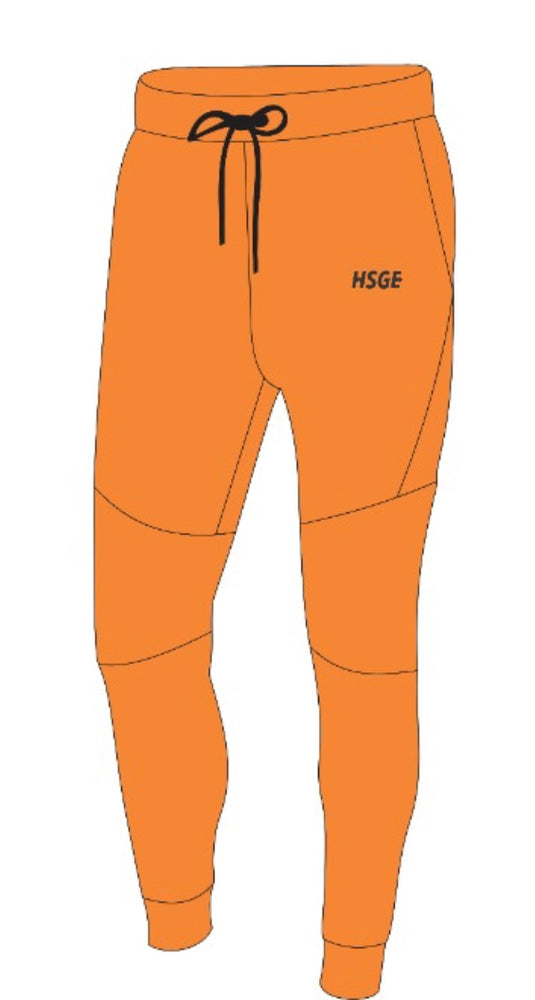 Organic Orange Sweatsuit
