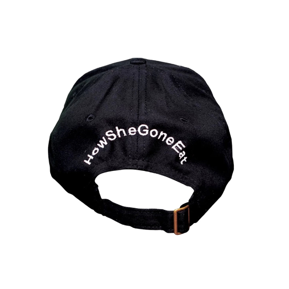 Black Suede Dad Hat