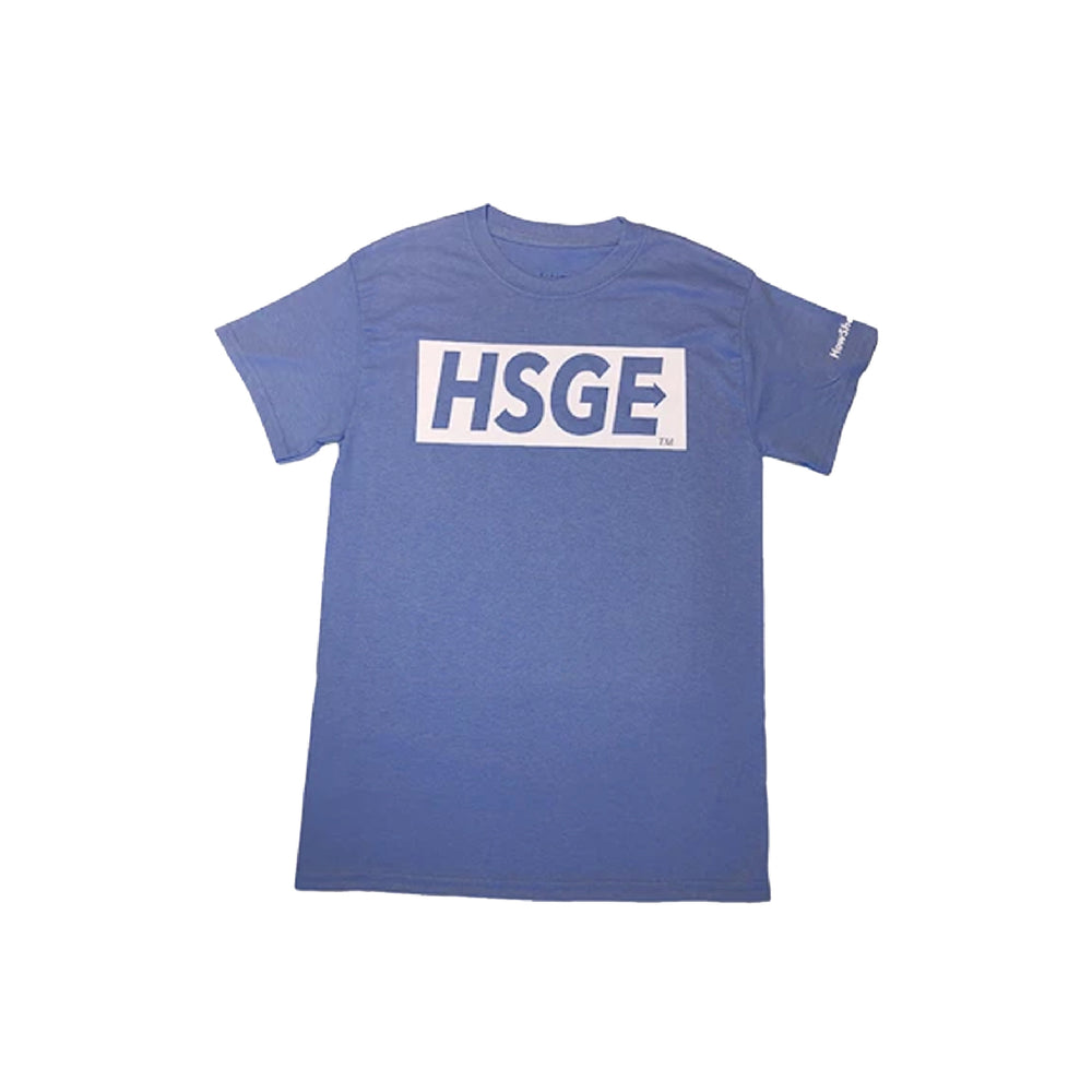 HSGE Light Blue tee