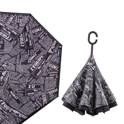 UMBRELLAS INVERTED FOLDING