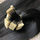 DIMENSION HAIR STRANDS 1B NATURAL COLOR