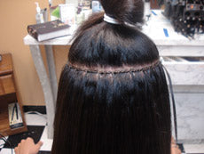 Braid-less Sew-in C. Installation