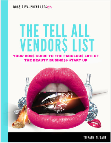 THE TELL ALL VENDORS LIST (beauty lashes & Eyebrows)