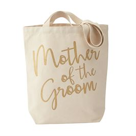Mother of The Groom Canvas Tote