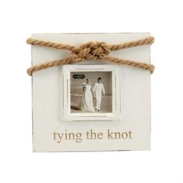 Tying the Knot Picture Frame