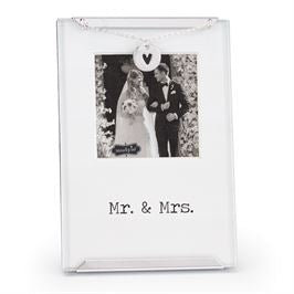 Mr. and Mrs. Small Picture Frame