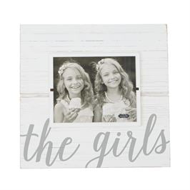 """The Girls"" Large Wooden Picture Frame"