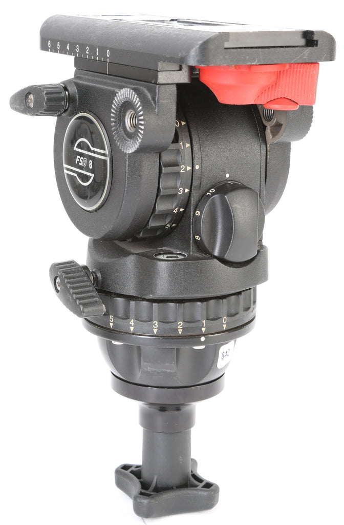 Sachtler FSB 8 Fluid Head Tripod Ball Mount Head with Quick Release Plate