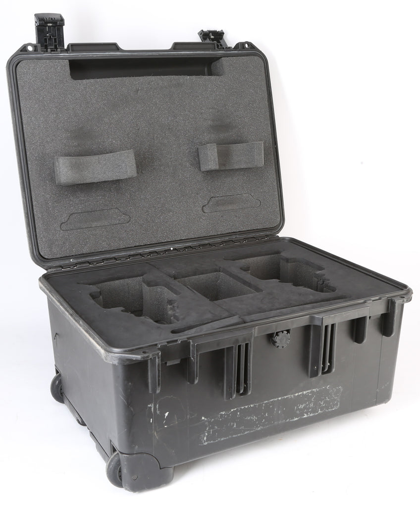 Generic Hard Travel Lens Case For (2) Lenses With Custom Cut Hard Foam Insert - Great For Optimo DP Rogue Cine Zoom, etc