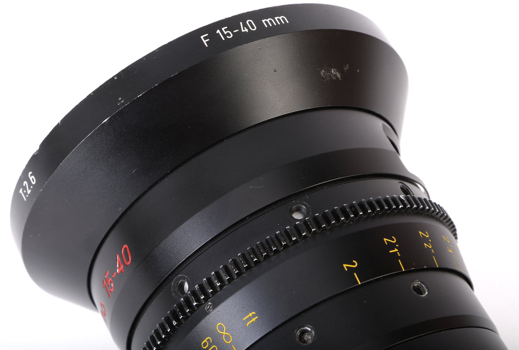 Angenieux Optimo 15-40mm T2.6 Wide Angle Cine Zoom PL Mount Lens For Canon, Sony, ARRI, Red Cameras