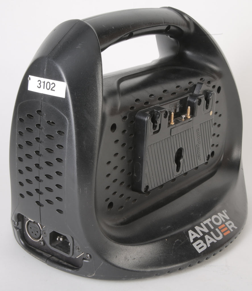 Anton Bauer Performance Series Dual Charger Gold Mount Cinema Camera Battery Charger - Selling As Is