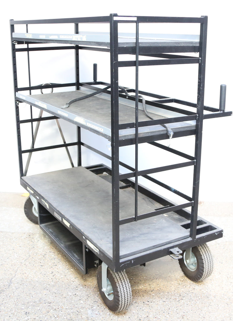 Backstage Equipment Universal MD E-02 Head Cart for Studio / Stage Lamps and Stands