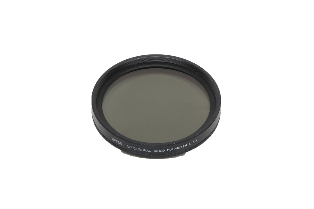Tiffen 80mm Circular Screw on Ser.9 Polarizer Camera Filter (CPF)