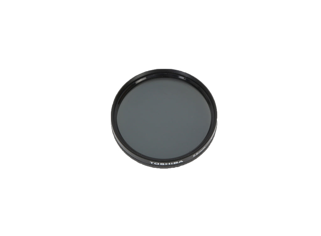 Toshiba 55mm Circular Screw On CPL Camera Filter (Circular Polarizing Lens)