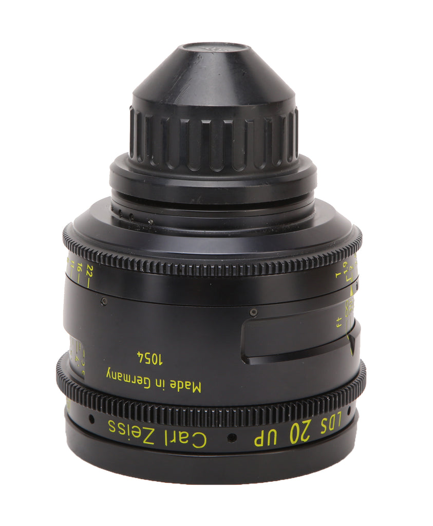 ARRI 20mm T1.9 LDS Ultra Prime Carl Zeiss Distagon Cine PL Mount Lens