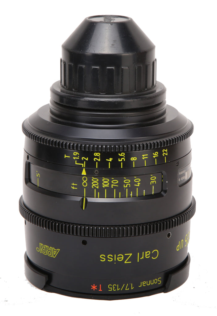 ARRI LDS Ultra Prime Carl Zeiss Distagon Cine PL Mount (7) Prime Lens Set (Lens Data System)