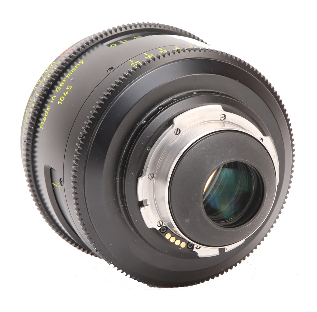 ARRI 100mm T1.9 LDS Ultra Prime Carl Zeiss Distagon Cine PL Mount Lens