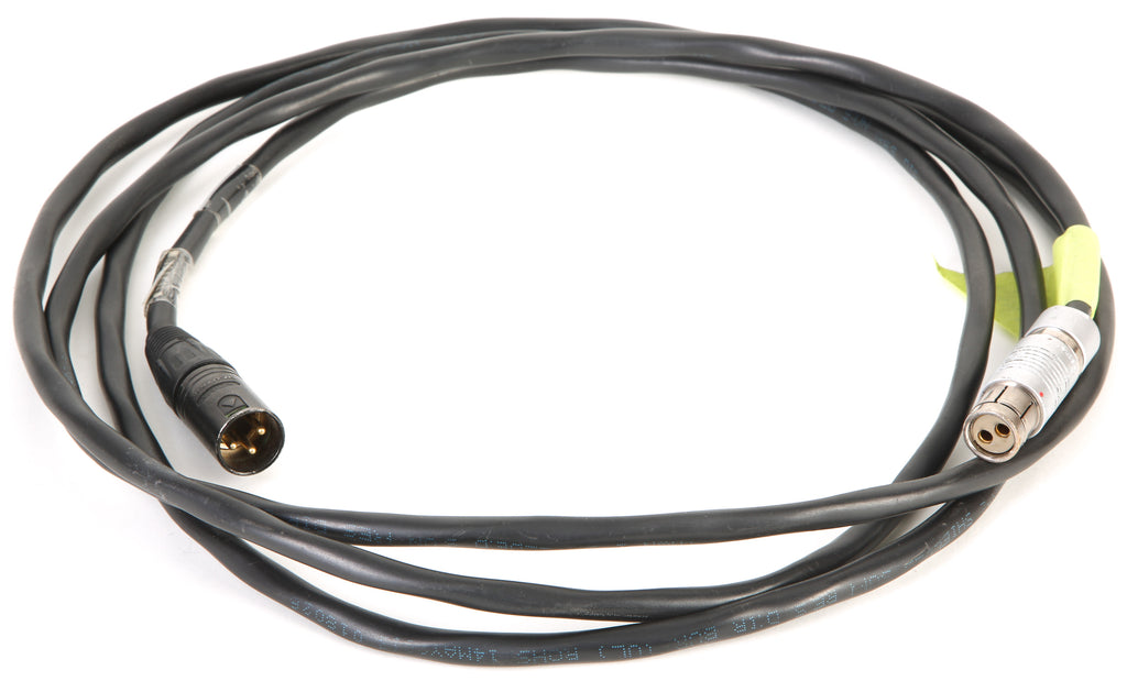 ARRI Fischer KC-20 Straight 2 Pin Female To 3 Pin Male XLR 10' Power Cable