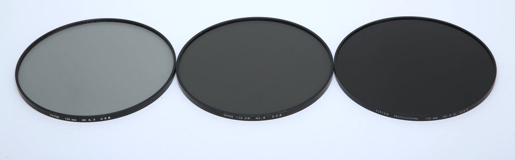 (3) Tiffen 138mm ND3, ND6, ND9 Filter Set