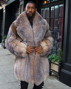 MEN -  CRYSTAL FOX 3/4 FUR