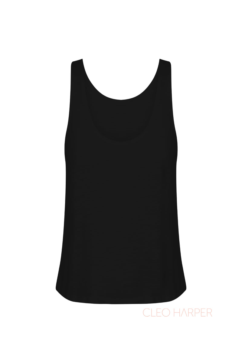 OXFORD TANK - BLACK