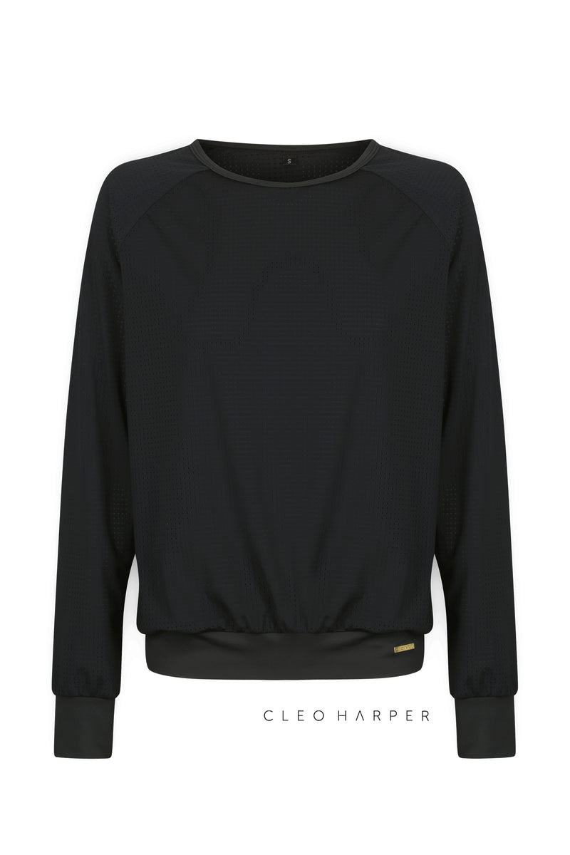 HAMPTON SWEATER - BLACK