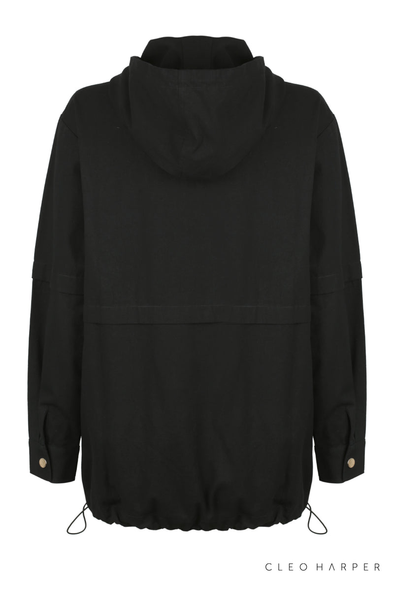 SAILOR JACKET - BLACK