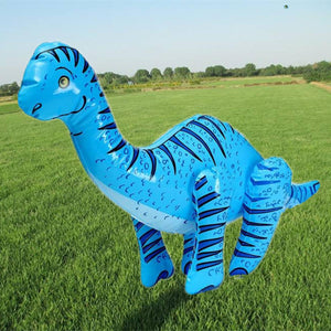 Blue Longneck Blowup Dinosaur Float - Pool Toy For Children