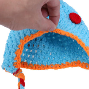 Knit Dino Outfit For Newborns