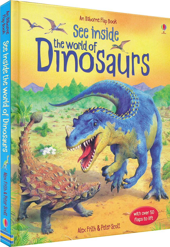See Inside The World Of Dinosaurs Book