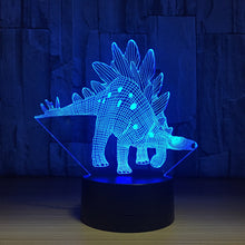 3D Dinosaur LED Night Light - Multicolor Dinosaur Illusions