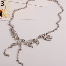 T-Rex Skeleton Necklace Pendant