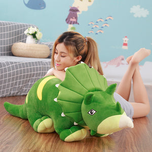 Giant Plush Triceratops