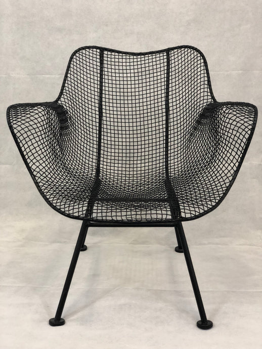 Russel Woodard Sulptura Wire Chair Set w/ Table 1950s
