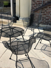 Load image into Gallery viewer, Russel Woodard Sulptura Wire Chair Set w/ Table 1950s