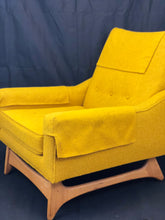 Load image into Gallery viewer, Adrian Pearsall Mustard Lounge Chair 1960's