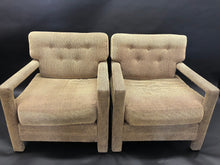 Load image into Gallery viewer, Pair of Milo Baughman Parsons Lounge Chairs