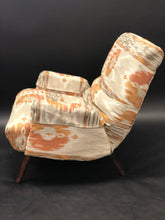 Load image into Gallery viewer, Pearsall Style Lounge Chair and Matching Hassock