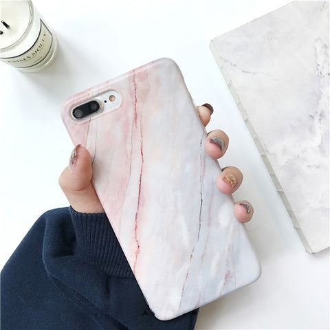 Soft Pink Marble Case