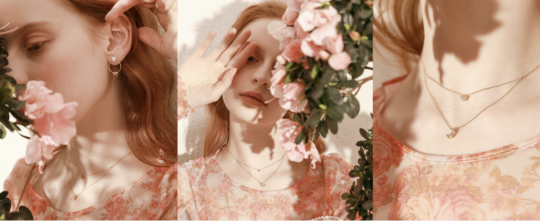 Spring 2019 from COFAIRY. Discovery more delicate and trendy jewelry in COFAIRY's newest collections for spring.