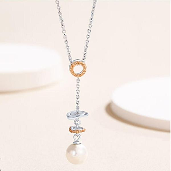 Romantic Pearl Necklace - Cofairy