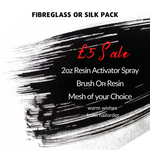Fibreglass or Silk Pack