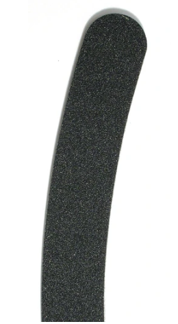 100/180 Black Boomerang Nail File (German) FB-014