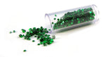 Glitter Tube Small Green NA-057