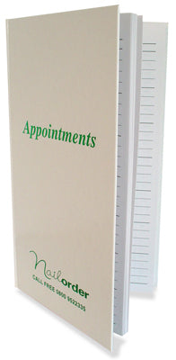 Appt Book 3 Column White SA-022