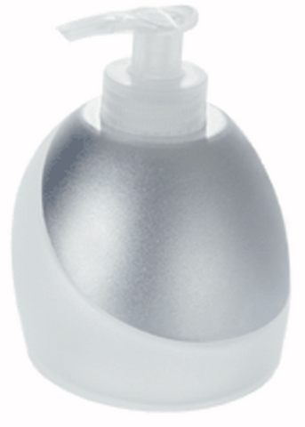 Lotion Pump Chrome/Glass BD-013