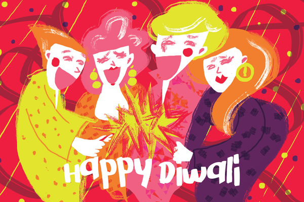 Diwali (pack of 5 postcards)